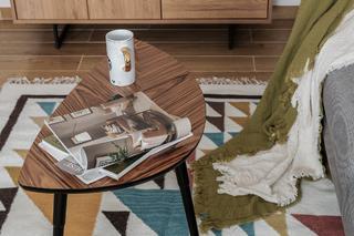 北欧风格两居室装修茶几设计图