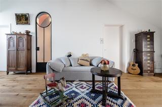 87平米二居室装修沙发设计