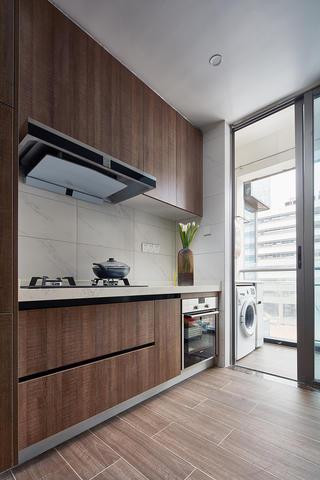 200㎡现代风格厨房装修效果图