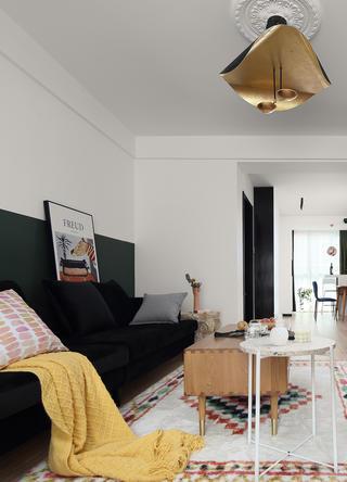 北歐風格三居室裝修沙發設計圖