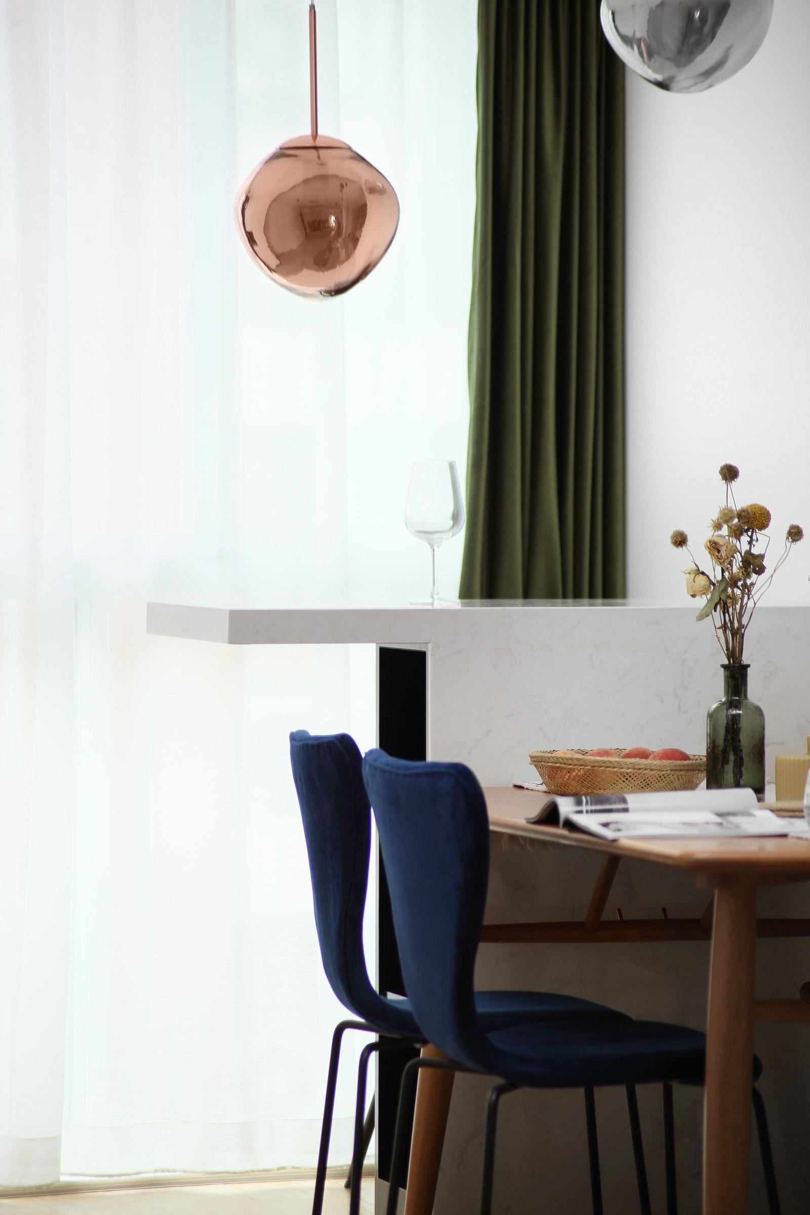 北欧风格三居室吧台装修效果图