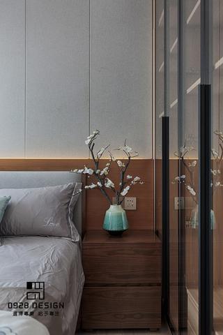 125㎡新中式装修床头一角