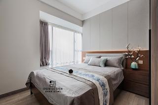 125㎡新中式卧室装修效果图