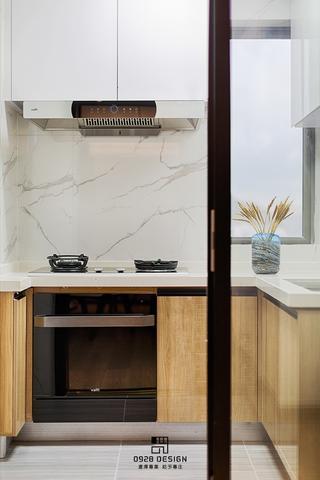 125㎡新中式装修厨房效果图