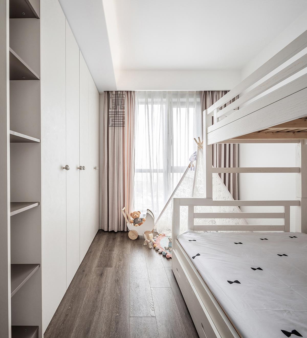 125平现代简约风儿童房装修效果图