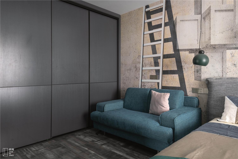 大户型现代混搭风装修沙发设计图