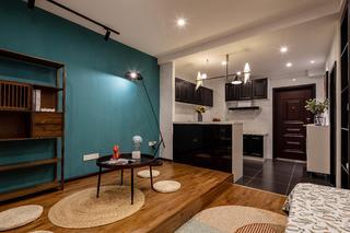 39㎡小户型公寓地台装修效果图