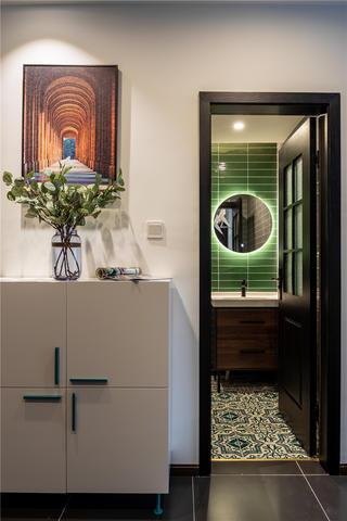 39㎡小户型公寓装修鞋柜设计图