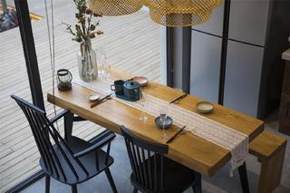 乡村休闲风民宿餐厅装修效果图