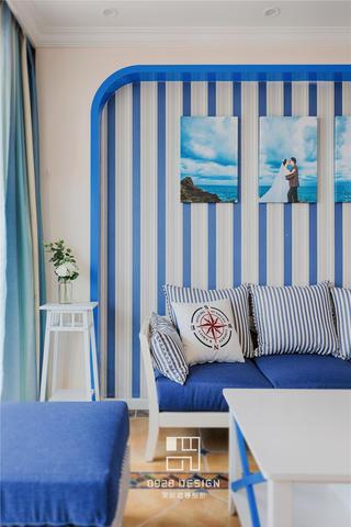 115㎡地中海风格装修客厅一角