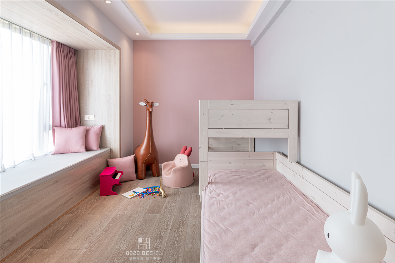 168㎡现代简约儿童房装修效果图