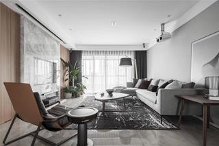 现代风三居室客厅每日首存送20