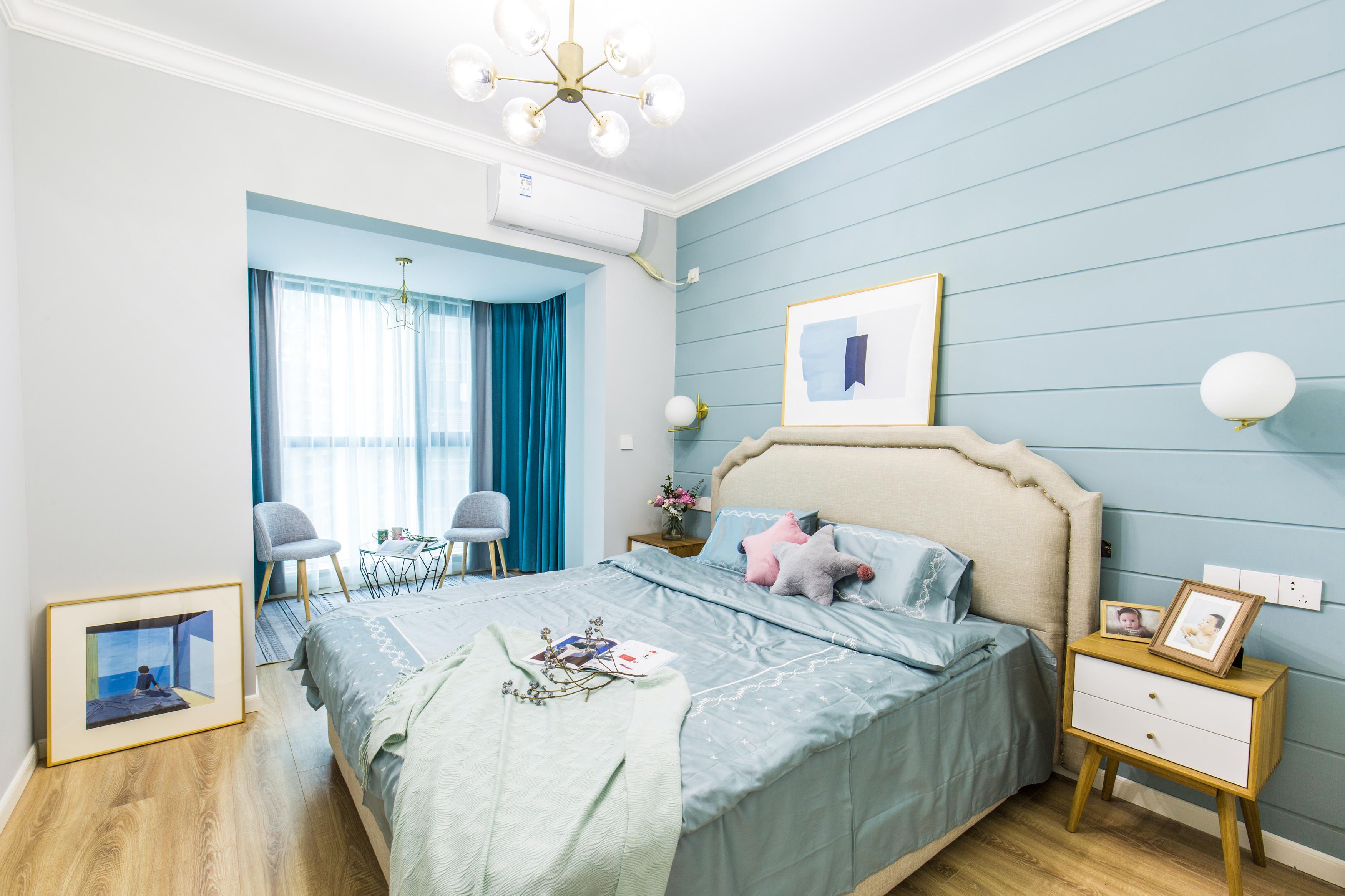 北欧风格四居卧室装修效果图
