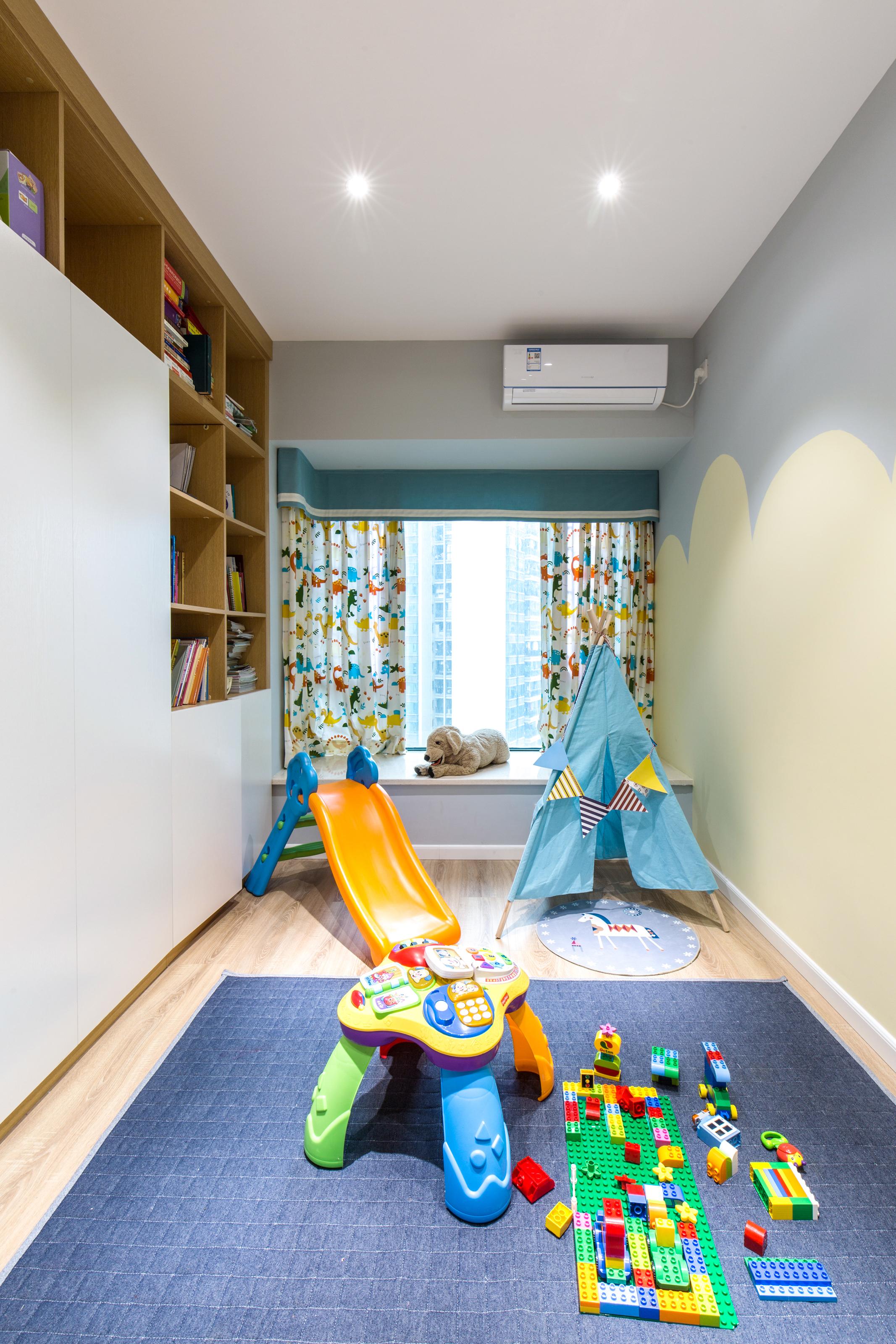 北欧风格四居儿童娱乐室装修效果图