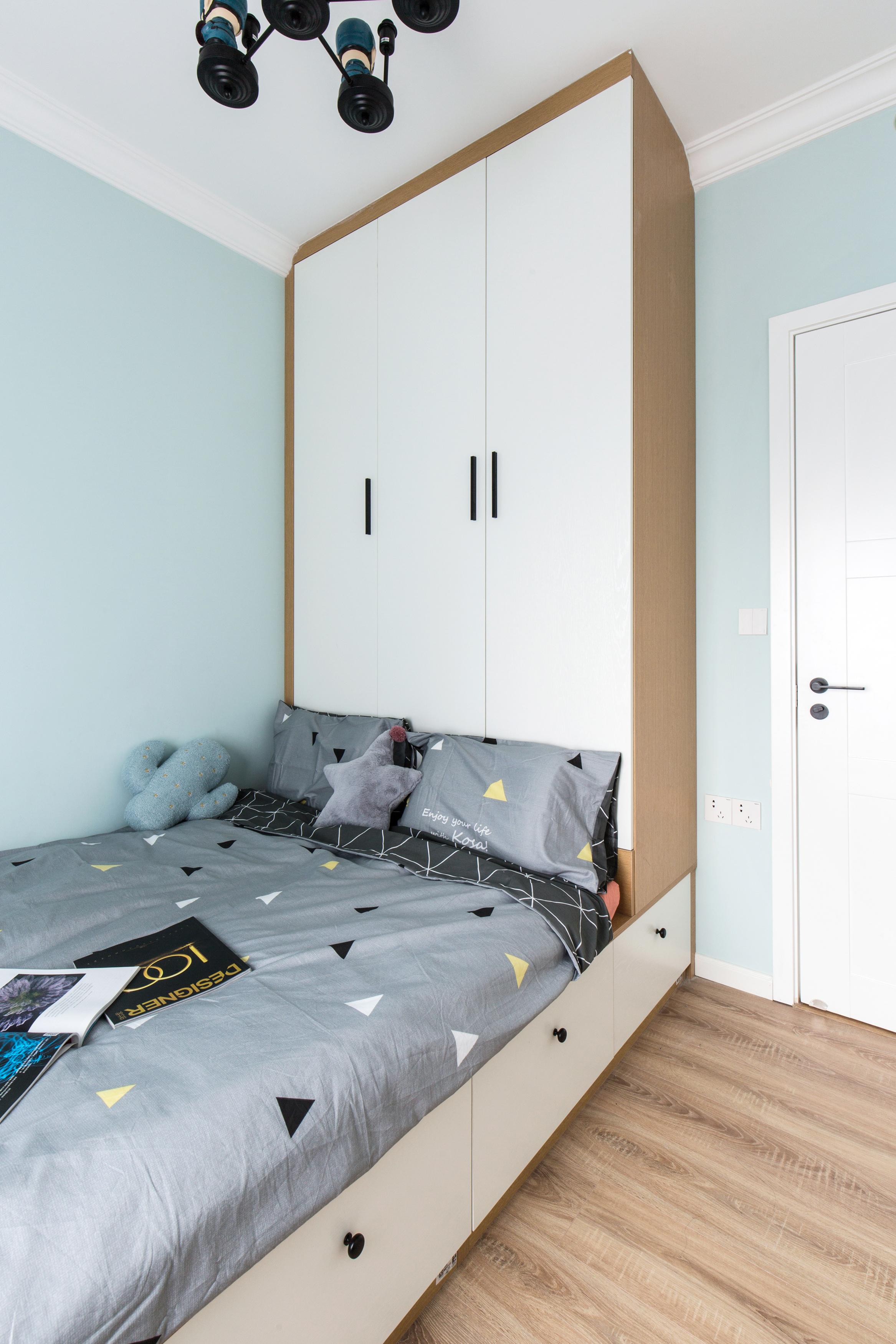 北欧风格四居室榻榻米儿童房装修效果图