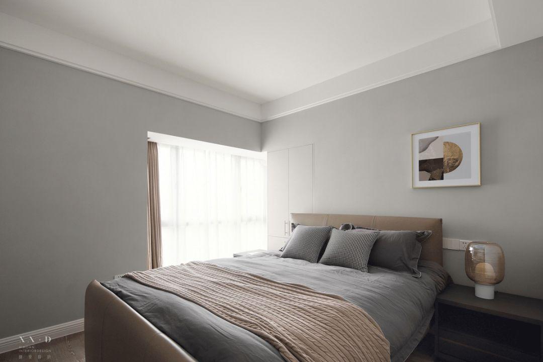 简美现代三居卧室装修效果图