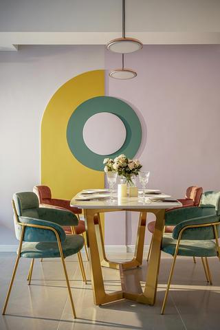 北欧风格三居室餐厅每日首存送20