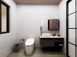 工业风格两居室卫生间装修效果图