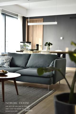130平北欧风格装修沙发设计图