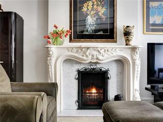 大户型法式风格装修壁炉设计