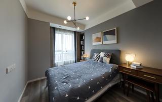 三居室现代混搭风卧室装修效果图