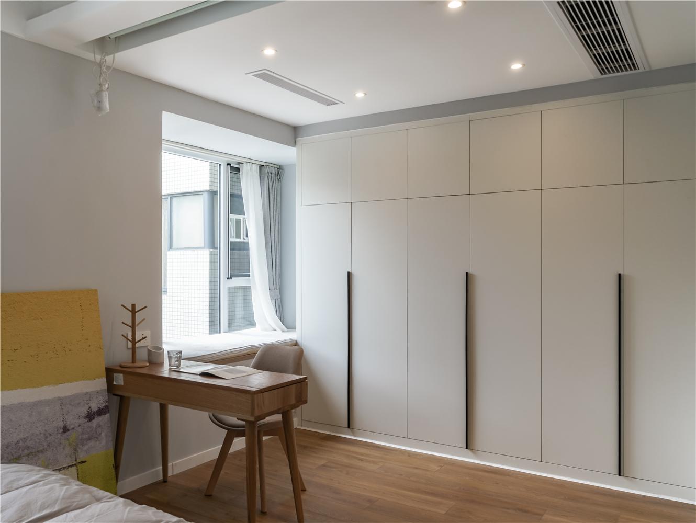 北欧风格三居室衣柜装修效果图