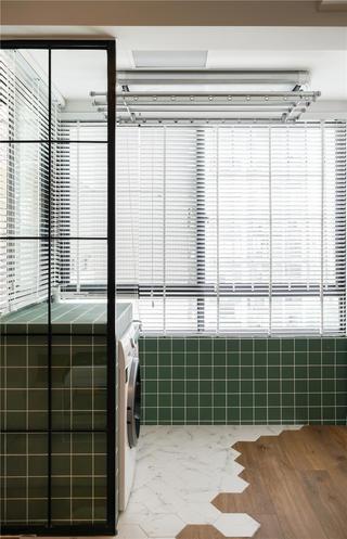 北欧风格三居室阳台装修效果图