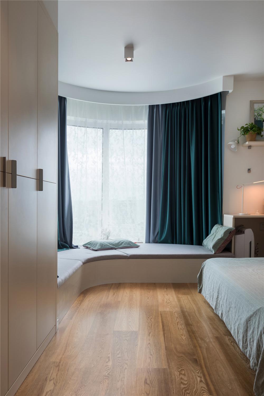 北欧风二居室飘窗装修效果图