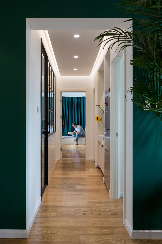 北欧风二居室走廊装修效果图