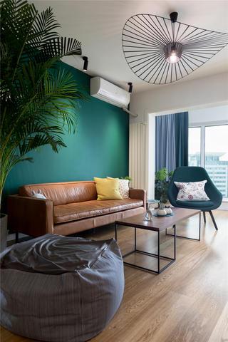 北欧风二居室装修茶几沙发设计