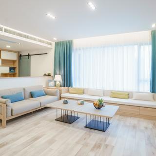 日式北欧风三居装修效果图