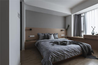 140㎡现代风卧室装修效果图