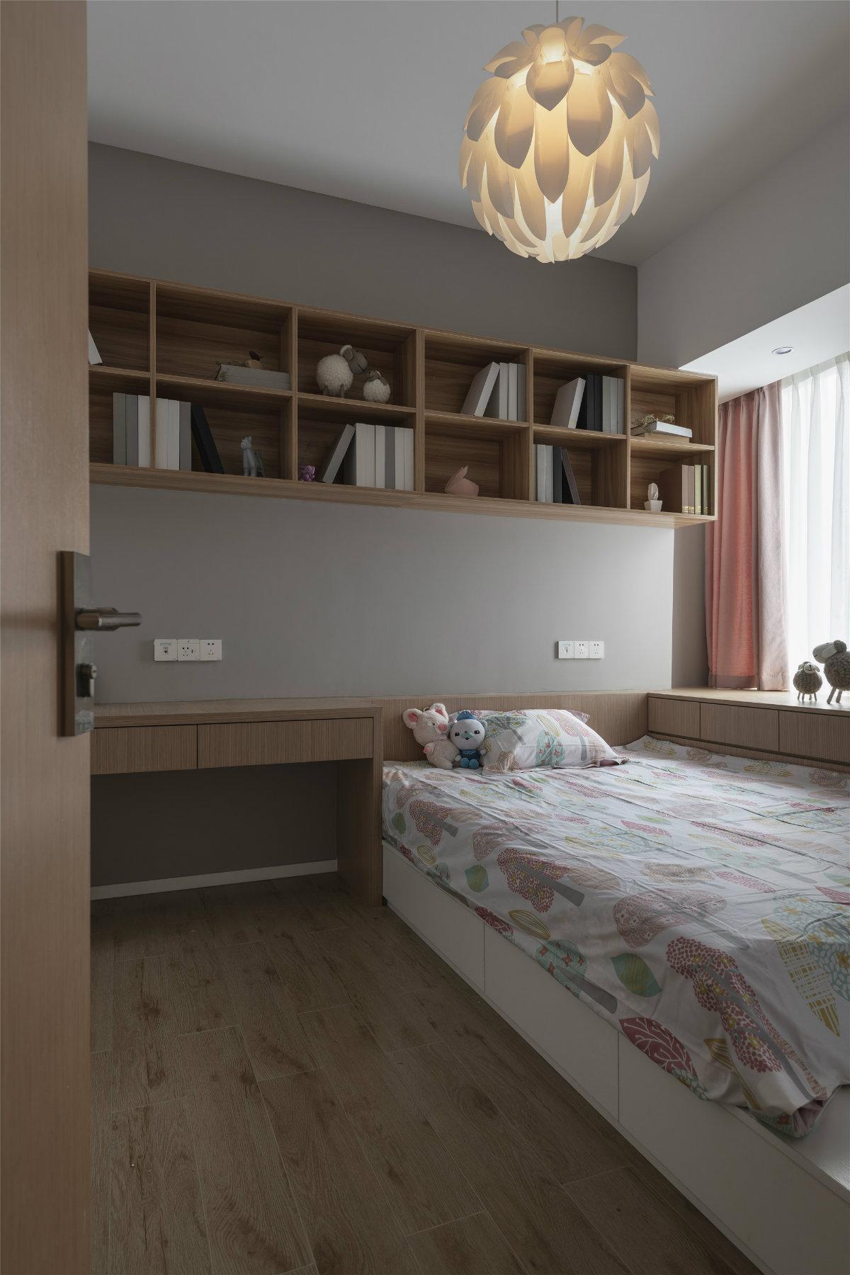 140㎡现代风榻榻米卧室装修效果图
