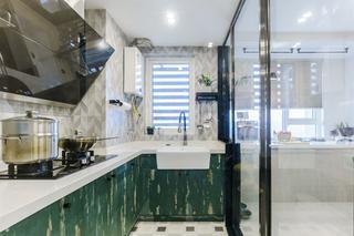 简约loft二居室厨房装修效果图