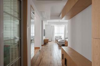 日式风格四居室玄关装修效果图