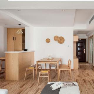 日式风格四居室装修效果图