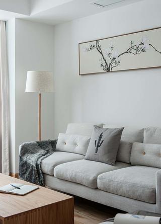 日式风格四居室装修沙发设计图