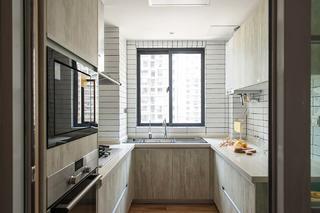 日式风格四居室厨房装修效果图