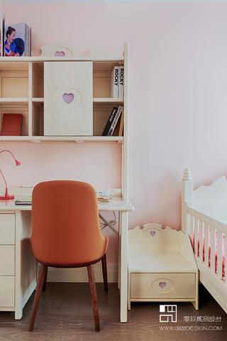 125㎡现代轻奢风装修儿童书桌设计