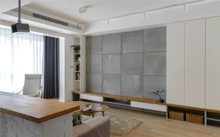 94平米三居室电视墙装修效果图