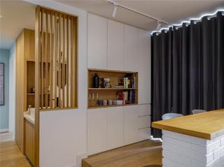 94平米三居室书房装修效果图