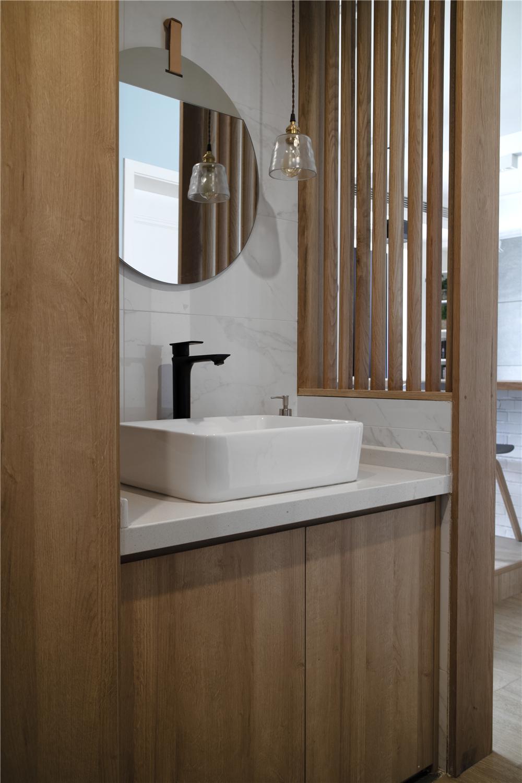 94平米三居室洗手台装修效果图