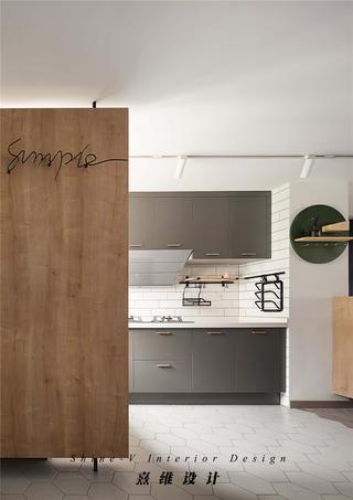 160平复式三居厨房装修效果图