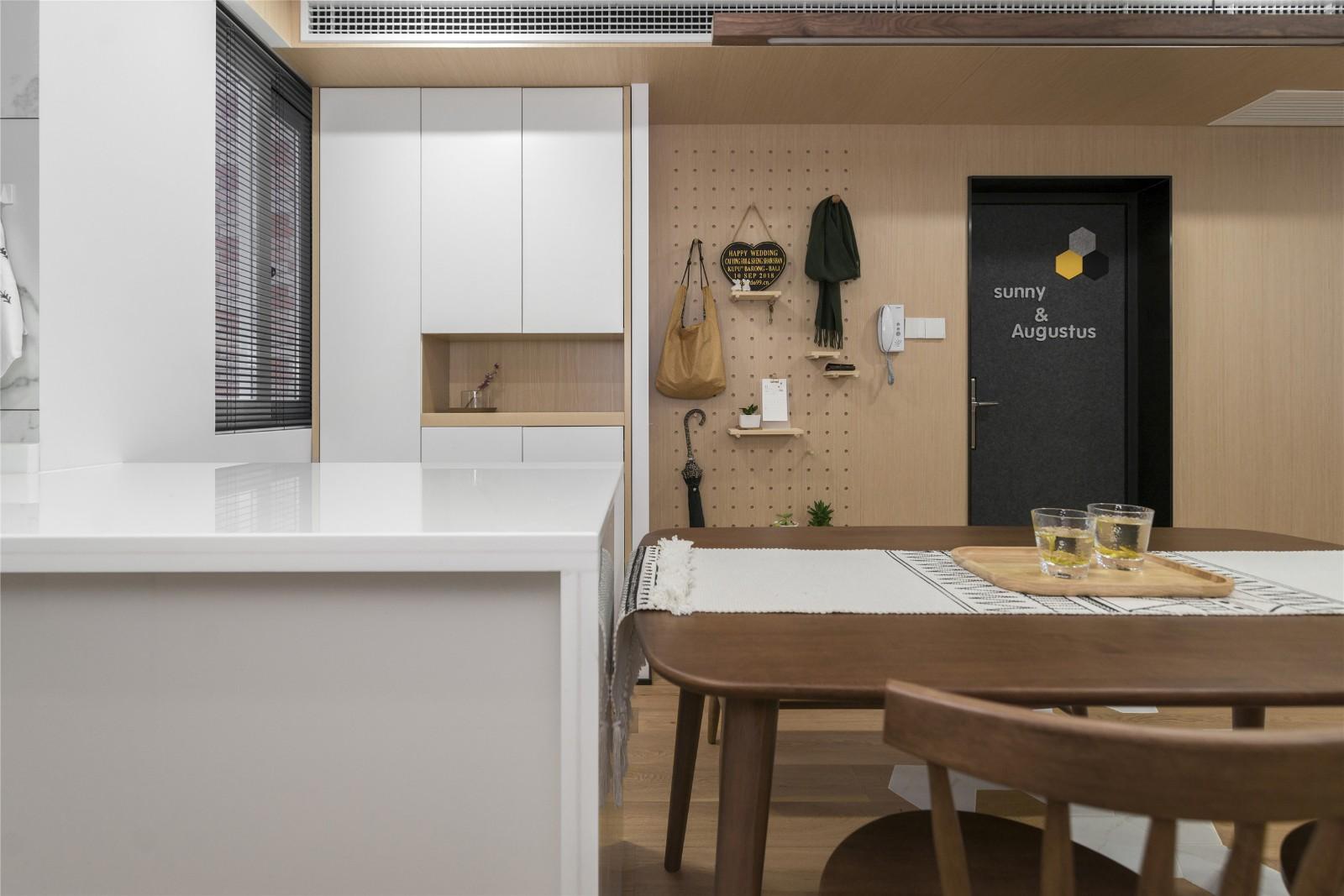 北欧风格两居室餐厅装修效果图