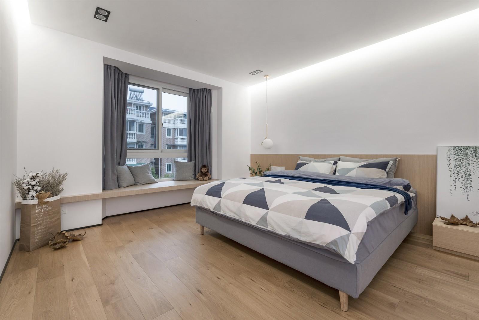 北欧风格两居卧室每日首存送20