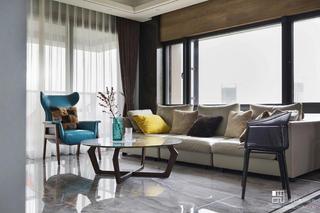 180㎡轻奢现代风装修沙发设计图