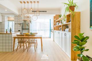 北欧风格二居餐厅装修效果图