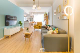北欧风格二居客厅装修效果图