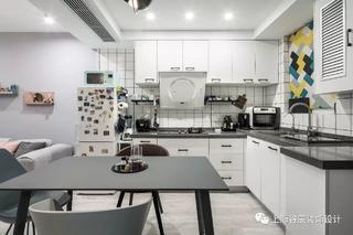50平北欧风公寓厨房装修效果图