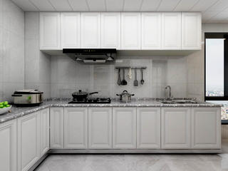 现代风三居厨房每日首存送20